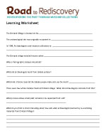 Download Learning Worksheet